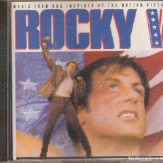 CDs de Música: ROCKY V CD (10 TRACKS). Lote 104201519