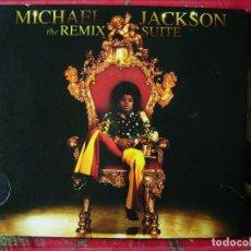 CDs de Música: MICHAEL JACKSON.THE REMIX SUITE.....MUY RARO EN CD. Lote 104221587