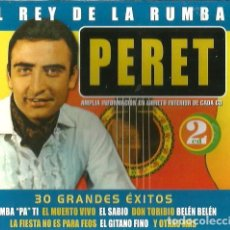 CDs de Música: DOBLE CD PERET - EL REY DE LA RUMBA ( EL MUERTO VIVO, EL GITANO FINO, EL SABIO, DON TORIBIO, ETC . Lote 104222367
