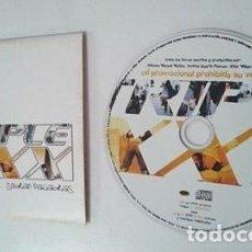CDs de Música: TRIPLE XXX ...SOBRAN PALABRAS PROMO CD-SINGLE 1+3. Lote 221981185