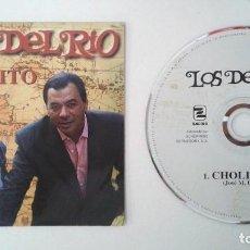 CDs de Música: LOS DEL RIO / CHOLITO (CD SINGLE PROMO PARA RADIOS 1995). Lote 104308155