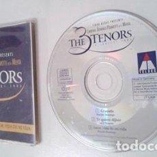 CDs de Música: THE THREE TENORS / GRANADA - TE QUIERO DIJISTE - AMOR, VIDA DE MI VIDA (CD SINGLE 1994. Lote 104308779