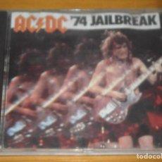 CDs de Música: CD - AC/DC 74 JAILBREAK - VER FOTOS DETALLES. Lote 104311819
