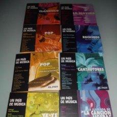 CDs de Música: CD- 8 LIBRO-DISCOS - LEA DENTRO TÍTULOS DE CADA CD. Lote 104312375