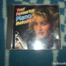 CDs de Música: CD YOUR FAVORITE PIANO MELODIES. Lote 104312583