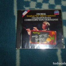 CDs de Música: CD DVORAK CLEVELAND ORCHESTRA CHRISTOPH VON DOHNANYI , SYMPHONY Nº 8. Lote 104312951