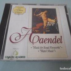 CDs de Música: CD - HAENDEL - ORQUESTA CÁMARA ESLOVACA DRT.- BOHDAN WARCHAL. Lote 104315327