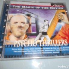 CDs de Música: CD - PSYCHO THRILLERS - 12 TEMAS . Lote 104315479