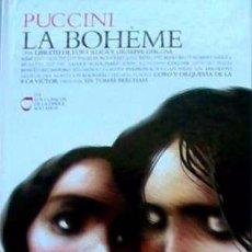 CDs de Música: PUCCINI - LA BOHEME - LOS CLASICOS DE LA OPERA - 400 AÑOS – 04 - EL PAIS. Lote 104316107
