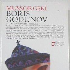 CDs de Música: MUSSORGSKI – BORIS GODUNOV - LOS CLASICOS DE LA OPERA - 400 AÑOS – 16 - EL PAIS. Lote 104316583