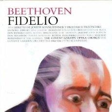 CDs de Música: BEETHOVEN - FIDELIO - LOS CLASICOS DE LA OPERA - 400 AÑOS – 03 - EL PAIS. Lote 104317239