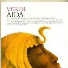 CDs de Música: VERDI - AIDA - LOS CLASICOS DE LA OPERA - 400 AÑOS – 26 - EL PAIS. Lote 104317855