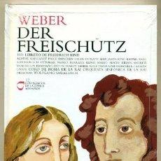 CDs de Música: WEBER – DER FREISCHUTZ - LOS CLASICOS DE LA OPERA - 400 AÑOS – 12 - EL PAIS. Lote 104318043