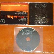 CDs de Música: MISANTROPICAL PAINFOREST - FIRM GRIP OF THE ROOTS - CD [DESCENDING TOWARDS DAMNATION, 2010] BLACK. Lote 104318631