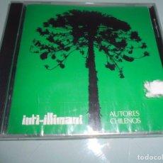 CDs de Música: CD PRECINTADO - INTI-ILLIMANI - AUTORES CHILENOS 16 TEMAS. Lote 104320487