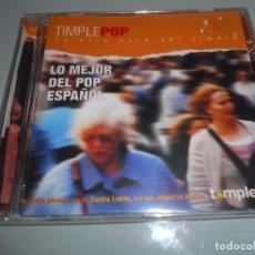 CDs de Música: CD PRECINTADO - TIMPLE POP - LA OTRA CARA DEL TIMPLE - LO MEJOR DEL POP ESPAÑOL. Lote 104320599