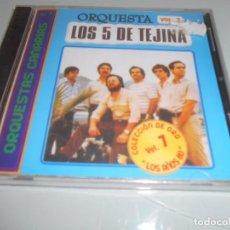 CDs de Música: CD PRECINTADO ORQUESTA CANARIA LOS 5 DE TEJINA - 12 TEMAS. Lote 104320823