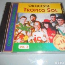 CDs de Música: CD PRECINTADO ORQUESTA CANARIA TRÓPICO SOL - 12 TEMAS. Lote 104321007