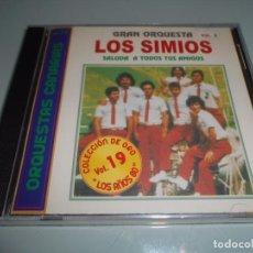 CDs de Música: CD PRECINTADO ORQUESTA CANARIA LOS SIMIOS - 11 TEMAS. Lote 104321071