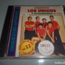 CDs de Música: CD PRECINTADO ORQUESTA CANARIA LOS ÚNICOS - 14 TEMAS. Lote 104321147