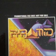 CDs de Música: PYRAMID / CD SINGLE PROMOCIONAL / THE IMMACULATE LIE. Lote 104324679