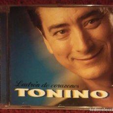 CDs de Música: TONINO (LADRON DE CORAZONES) CD 1998 * DIFICIL DE CONSEGUIR - DESCATALOGADO. Lote 104326899