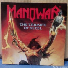 CDs de Música: MANOWAR - THE TRIUMPH OF STEEL 1982 EU CD. Lote 104331787