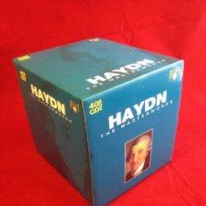 CDs de Música: HAYDN-THE MASTERWORKS-40 CD BOX-BRILLIANT CLASSICS. Lote 104356335