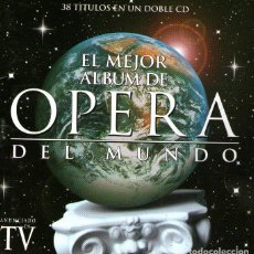 CDs de Música: DOBLE CD ÁLBUM - EL MEJOR ÁLBUM DE ÓPERA DEL MUNDO - 38 TRACKS - EMI RECORDS - 1996.. Lote 104359191