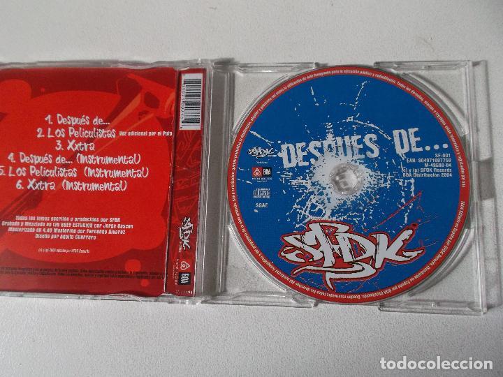 CDs de Música: SFDK DESPUES DE HIP HOP 2004 - Foto 3 - 104372131