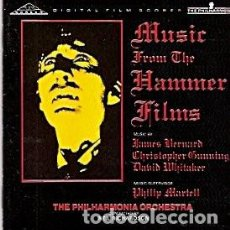 CDs de Música: MUSIC FROM THE HAMMER FILMS - THE PHILARMONIA ORCHESTRA (NEIL RICHARDSON). Lote 104400839