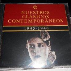 CDs de Música: DOBLE CD VARIOS CLÁSICOS 1945 1946 PIQUER PUEBLA MARCHENA CASTRO MELLER. Lote 104421499