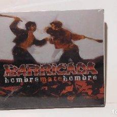 CDs de Música: BARRICADA - HOMBRE MATE HOMBRE DIGIPACK CD + DVD. Lote 104441259