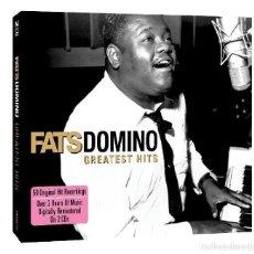 CDs de Música: FAST DOMINO * 2CD LTD DIGIPACK * GREATEST HITS 50 ORIGINAL HITS * DIGITALLY REMASTERED * PRECINTADO. Lote 104457935