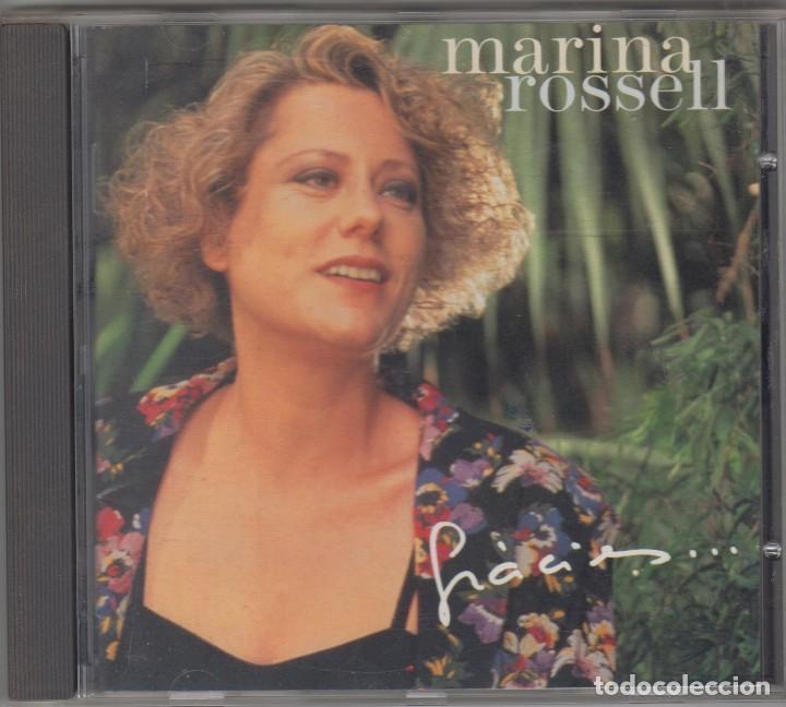 MARINA ROSSELL CD GRÀCIES 1994 PDI DUETS LLUÍS LLACH MANZANITA MARIA DEL MAR BONET (Música - CD's Otros Estilos)