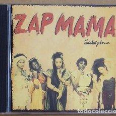 CDs de Música: ZAP MAMA - SABSYLMA (CD) 1994 - 14 TEMAS. Lote 104471631