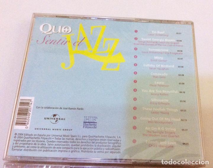 CDs de Música: Lote de 2, Sentir el Jazz. Precintados - Foto 2 - 104502310