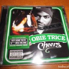 CDs de Música: OBBIE TRICE CHEERS CD ALBUM DEL AÑO 2003 EU DUOS EMINEN NATE DOGG DR. DRE 50 CENT KON ARTIS OF D12. Lote 104536219