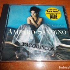 CDs de Música: AMPARO SANDINO PUNTO DE PARTIDA CD ALBUM AÑO 1996 ALEMANIA DUOS JAVIER OJEDA GIPSY KINGS 10 TEMAS. Lote 104541627