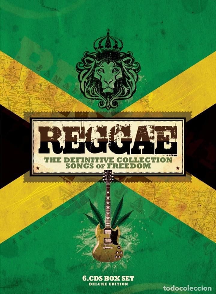 VA - REGGAE · THE DEFINITIVE COLLECTION · SONGS OF FREEDOM [BOX SET] (Música - CD's Reggae)