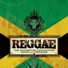 CDs de Música: VA - REGGAE · THE DEFINITIVE COLLECTION · SONGS OF FREEDOM [BOX SET]. Lote 104574467