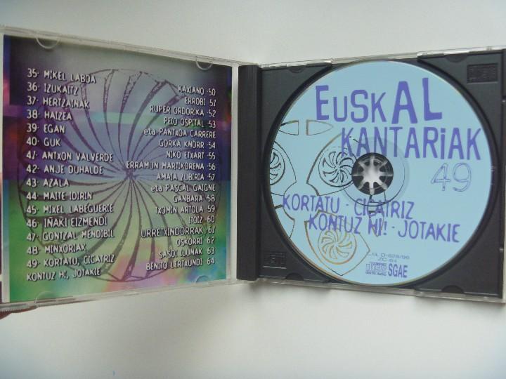 CDs de Música: KORTATU EUSKAL KANTARIAK NICARAGU SANDINISTA MÁS REGALO KOLPEZ KOLPE - Foto 2 - 104580219