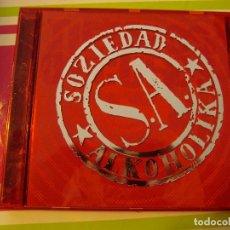 CDs de Música: SOZIEDAD ALKOHOLIKA - TIEMPOS OSCUROS (CD, ALBUM, RED) . Lote 104627367