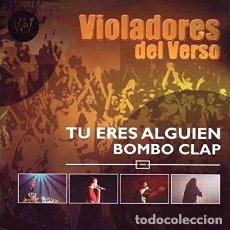 CDs de Música: VIOLADORES DEL VERSO BOMBO CLAP CD + DVD. Lote 104627591