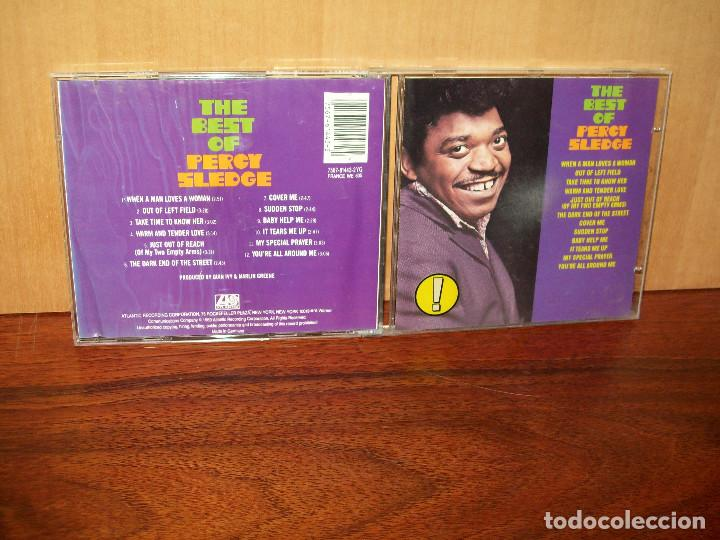 PERCY SLEDGE - THE BEST OF - CD (Música - CD's Jazz, Blues, Soul y Gospel)