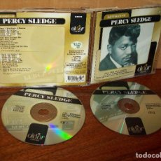 CDs de Música: PERCY SLEDGE - MEMORIES OF - CD DOBLE . Lote 104636531