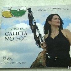 CDs de Música: CRISTINA PATO-GALICIA NO FOL-LIBRO + CD + DVD -N. Lote 104636975