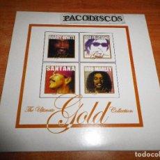 CDs de Música: THE ULTIMATE GOLD COLLECTION CD SAMPLER PROMO 2003 SANTANA BARRY WHITE JOSE FELICIANO BOB MARLEY. Lote 104642147