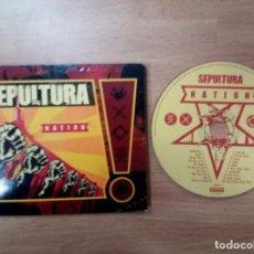 CDs de Música: SEPULTURA - NATION. Lote 104644111