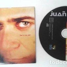 CDs de Música: JUAÑARES - SER O NO SER PROMO CD SINGLE CARTON EDICION RADIOS. Lote 104688371